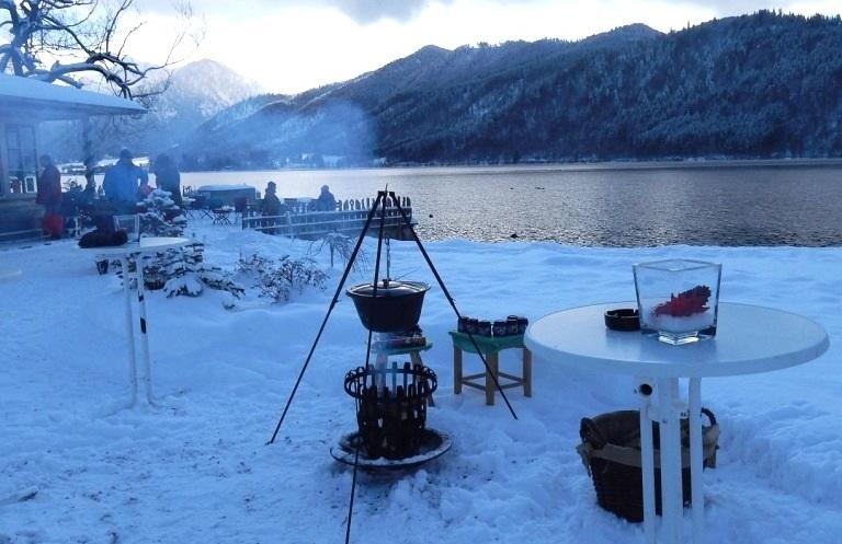 Druidenfeuer am Schliersee