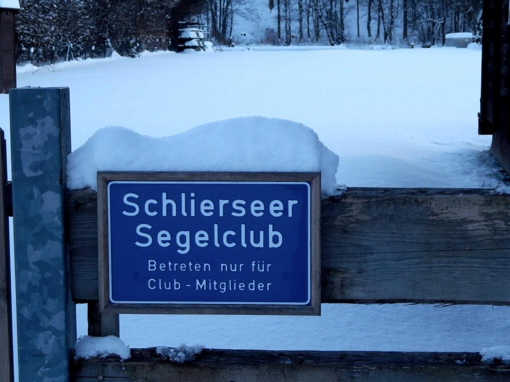 Segelclub Schliersee im Winter