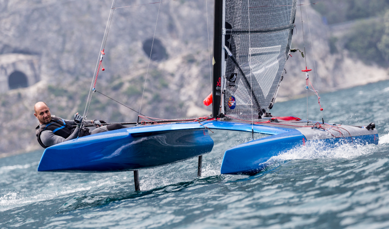 A-class-catamaran-Spring-Cup-Lake-Garda freigegeben für